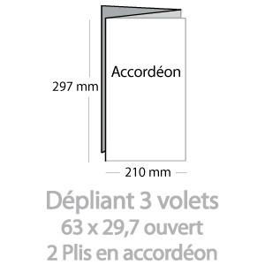 Dépliants (63X30cm)