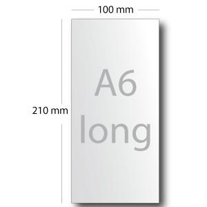 Cartes de correspondance (10X21cm)