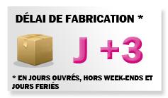 Délais: J+3