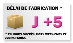 Délais: J+5